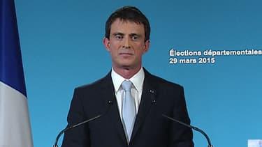 Manuel Valls dimanche 29 mars