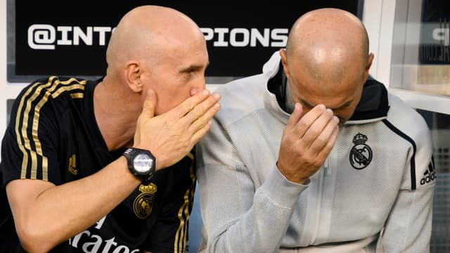 Zinedine Zidane lors de l'ICC 2019