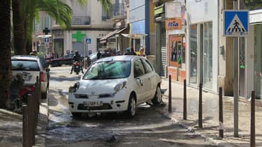 A Cannes, dimanche après la tempête.