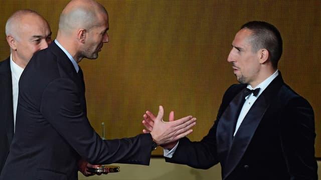 Zinedine Zidane & Franck Ribéry