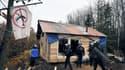 23 novembre 2012: des gendarmes mobiles délogent des squatteurs à Notre-Dame-des-Landes