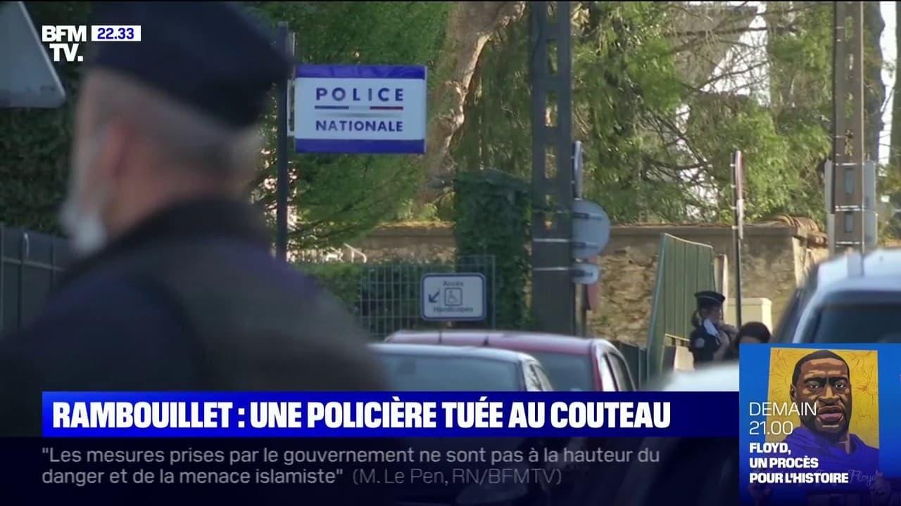 une fonctionnaire de police tuée lors d'une attaque au couteau