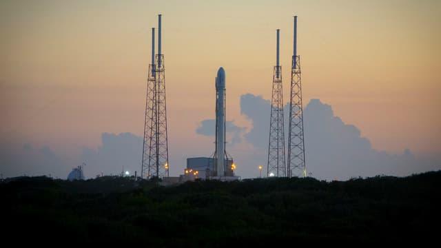 Une fusée Falcon 9 de la société Space X, le 20 décembre 2015.