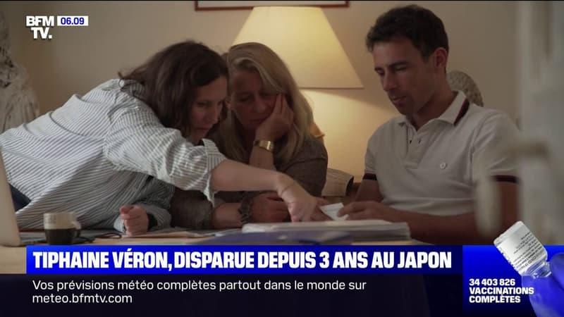 La famille de Tiphaine Véron tente toujours de la retrouver trois ans après sa disparition au Japon