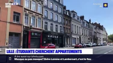Lille: les étudiants à la recherche d'appartements