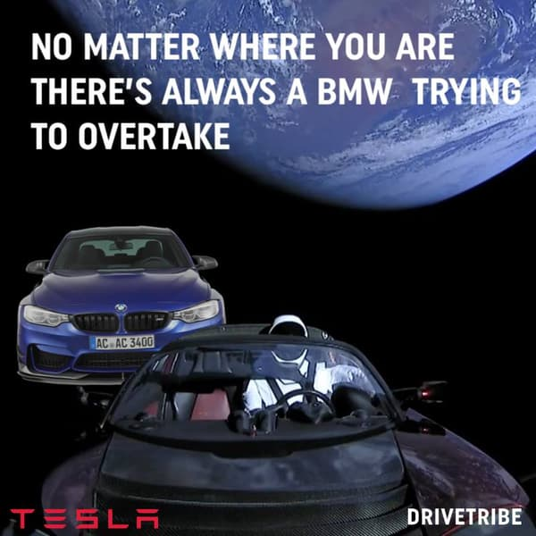 Peu importe où vous vous trouvez, il y a toujours une BMW pour vous doubler.
