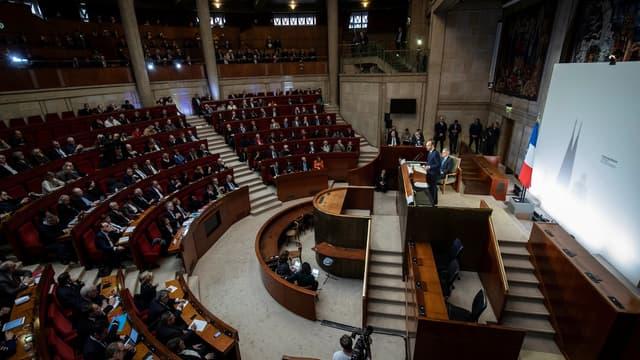Le Premier ministre, Edouard Philippe, au conseil économique, social et environnemental en décembre 2019 (photo d'illustration)