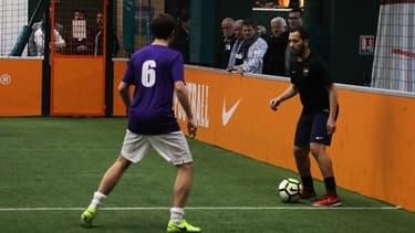 La pratique du foot à 5 s'est développée à grande vitesse en France.