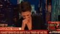 Rachel Maddow a fondu en larmes en direct sur MSNBC.