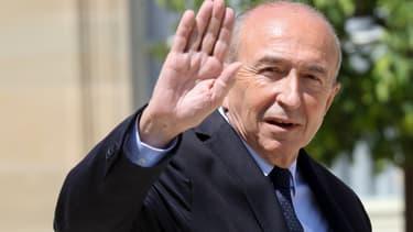 Gérard Collomb le 14 mai 2017 à l'Elysée.