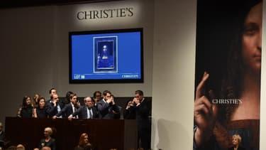 """Le """"Salvator Mundi"""" a été vendu un prix record."""