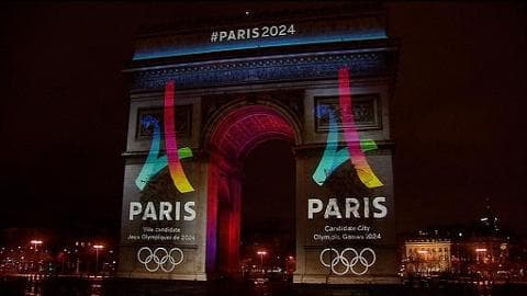 Le logo de la candidature de Paris au JO 2024 dévoilé