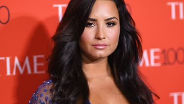 Demi Lovato le 25 avril 2017 à New York