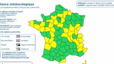 """La vigilance orange """"crues"""" a été levée lundi pour le Morbihan, la Loire-Atlantique et l'Ille-et-Vilaine."""