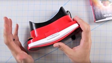 Ce casque de réalité virtuelle signé Mattel est en vente dans les magasins en ligne d'Apple.