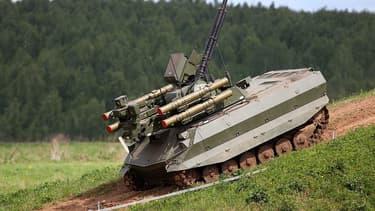 Moscou crée une unité de robots terrestre composée de 20 chars autonomes Uran-9