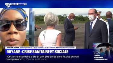 """Yvane Goua (collectif """"Mayouri Santé Guyane""""): """"Si l'État était au rendez-vous aujourd'hui, on ne serait pas à 26 morts [du covid] en Guyane"""""""