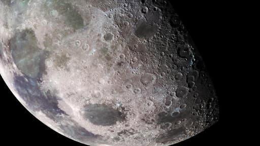Image d'illustration de la Lune