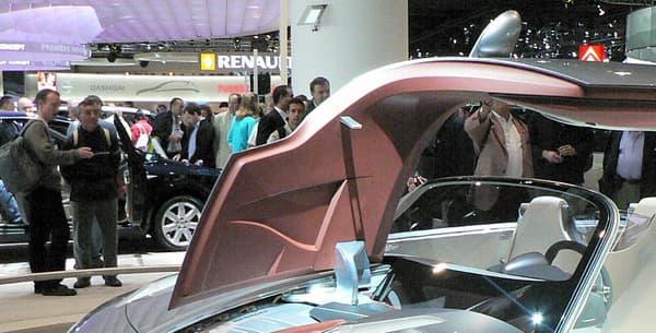 Le concept de cabriolet Renault Nepta