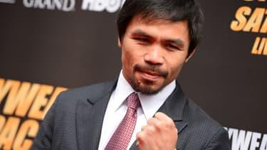 "Manny Pacquia disputera ""le combat du siècle""', le 2 mai prochain"