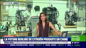 La future berline de Citroën produite en Chine