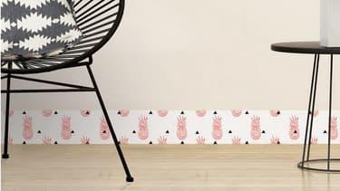 Ces plinthes en PVC recyclé peuvent devenir de vrais éléments de décoration.