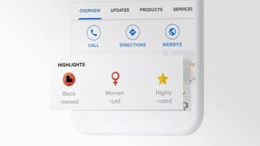Le nouveau badge Google pour indiquer quand un lieu est tenu par une personne noire
