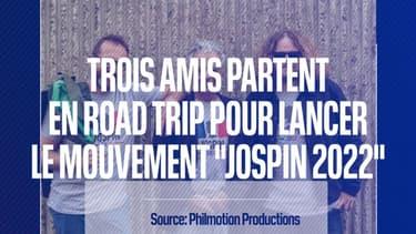 Trois amis se lancent dans un road-trip pour tenter de convaincre Lionel Jospin d'être candidat en 2022