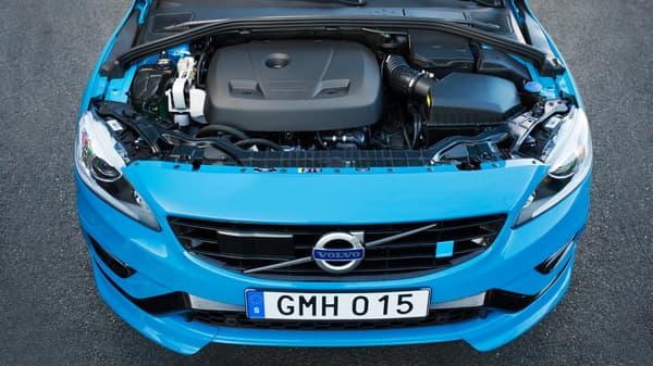 Un nouveau moteur 2,0 litres de quatre cylindres pour le V60 Polestar.