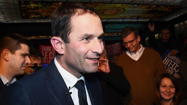 Benoît Hamon, vendredi à Marseille