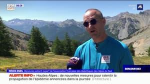Alpes du Sud: diabétique, il s'attaque aux cols du département