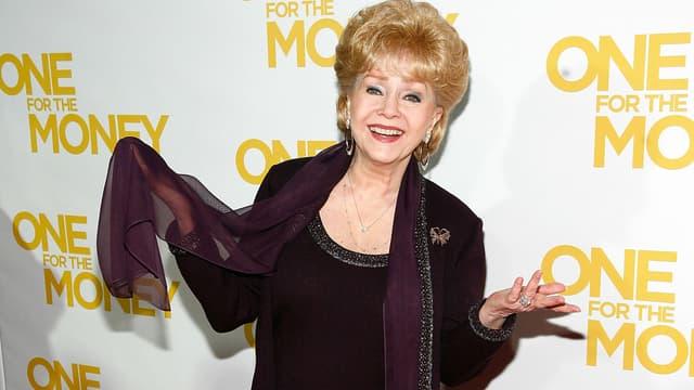 Debbie Reynolds à New York en 2012