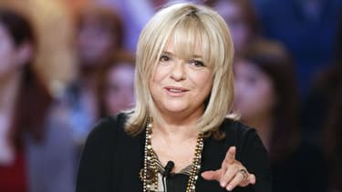 "France Gall sur le plateau du ""Grand Journal"" en 2012"