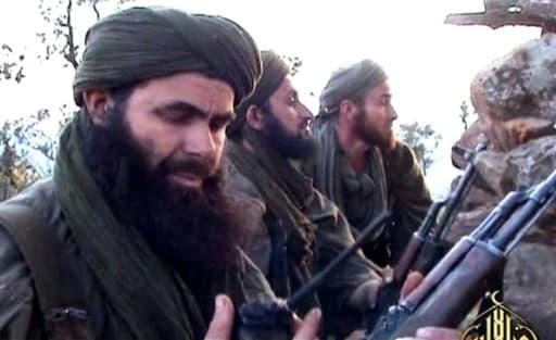 Le leader d'Al Qaïda au Maghreb islamique (AQMI), l'Algérien Abdelmalek Droukdal dans un lieu non identifié, le 23 mai 2012