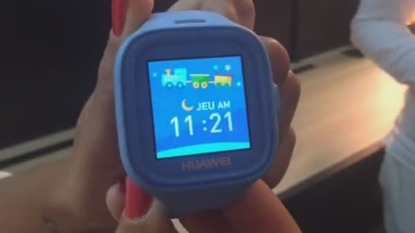La montre connectée pour enfants de Huawei.