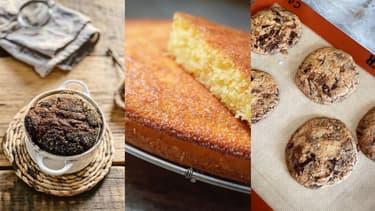 Les pâtisseries de Yann Couvreur, Jean-François Piège et Cyril Lignac sur Instagram.