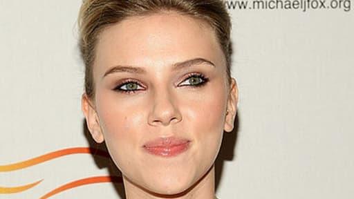 Scarlett Johnasson, le 20 septembre 2009.
