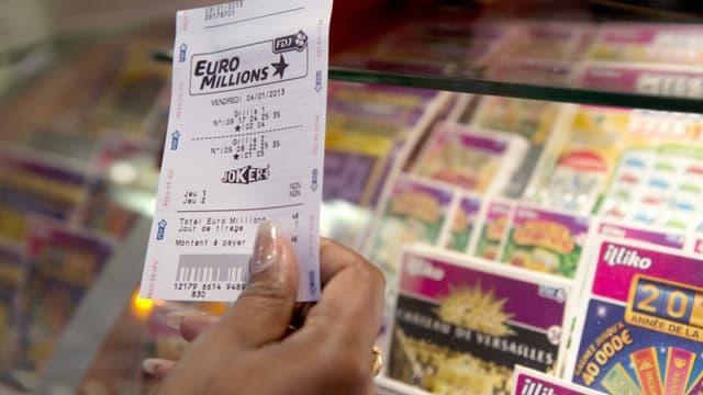 Image d'illustration - Le prochain jackpot de l'EuroMillions va atteindre un niveau record de 200 millions vendredi.