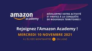 Rejoignez AMAZON ACADEMY le mercredi 10 novembre