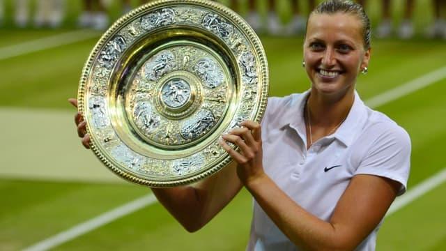 Wimbledon : Petra Kvitova