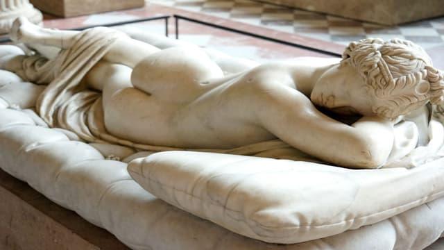 Hermaphrodite endormi, Musée du Louvre (photo d'illustration).