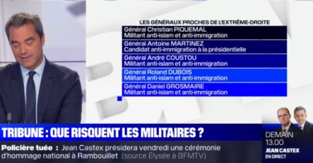 Tribune de militaires: qui sont les généraux signataires du texte?