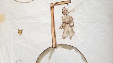 Un dessin de Saint-Exupéry