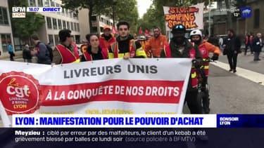 Lyon : au moins 2.300 manifestants pour le pouvoir d'achat