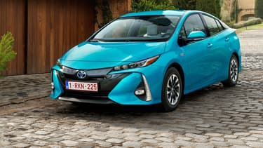 La Toyota Prius est disponible en version hybride ou hybride rechargeable. (image d'illustration)