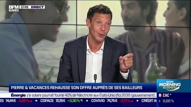 Franck Gervais, le président du Groupe Pierre & Vacances-Center Parcs.