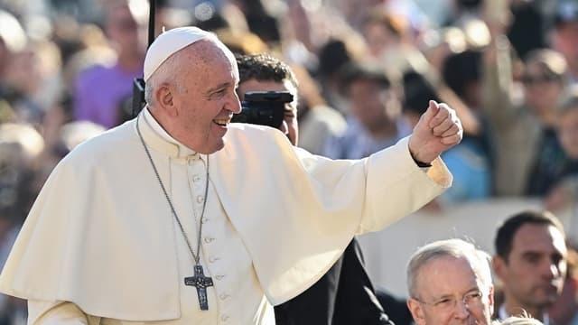 Le Pape François, au Vatican.