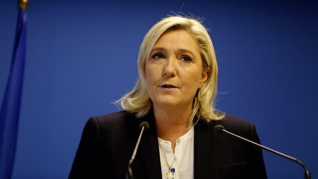 Marine Le Pen, le 14 novembre 2015, à Nanterre.