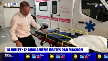 14 juillet : douze Rhodaniens invités par Macron