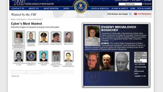 Evgueni Mikhaïlovitch Bogachev est l'un des cybercriminels les plus recherchés.